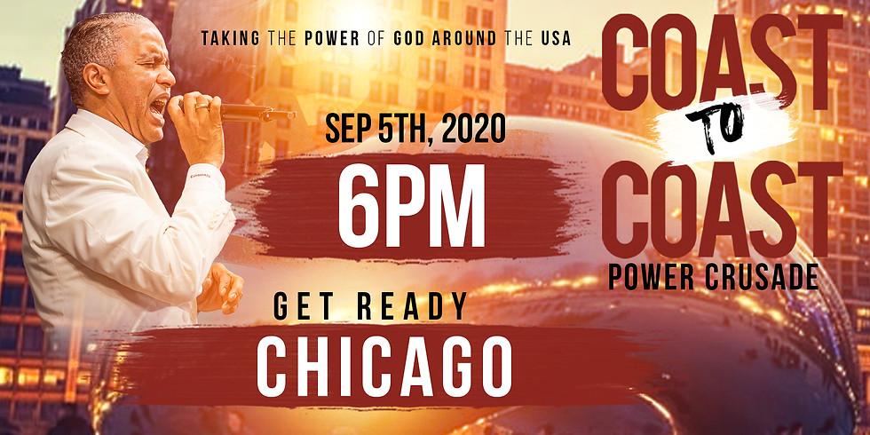 CHICAGO-COAST TO COAST HOLY SPIRIT POWER CRUSADE