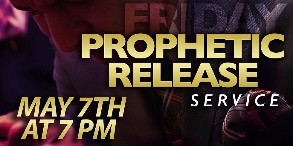 NEW YORK- Prophetic Release Service