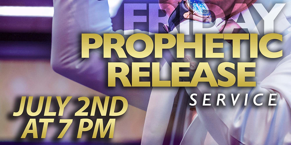 NEW YORK, NY - PROPHETIC RELEASE SERVICE