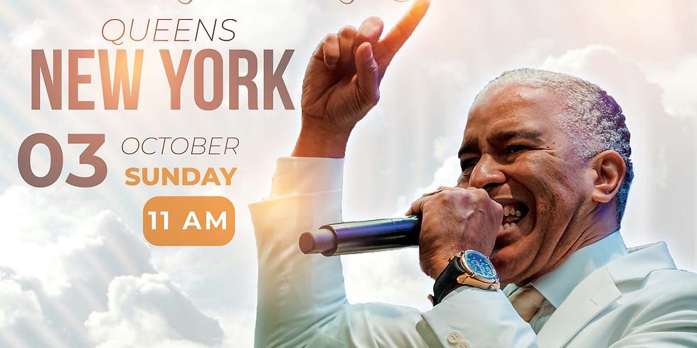 """NEW YORK -  Sunday of Testimony Manifestation """"My Testimony Shall Come"""" with Prophet Ed"""