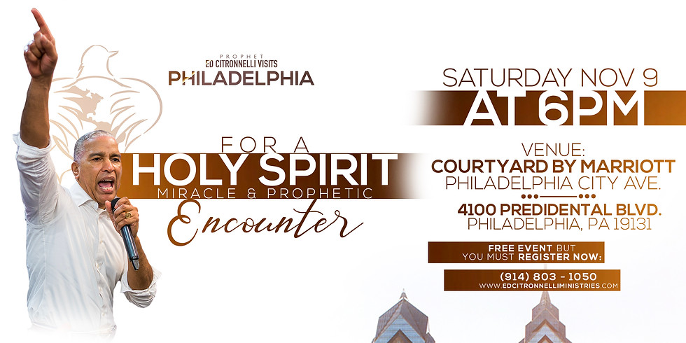 HOLY SPIRIT MIRACLE & PROPHETIC ENCOUNTER