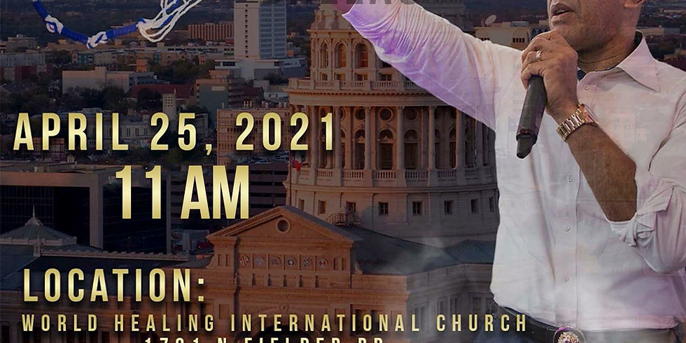 DALLAS, TX - Healing Tassel Sunday Service