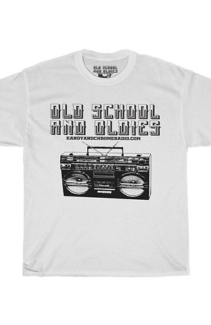 Old School and Oldies Unisex Heavy Cotton Tee