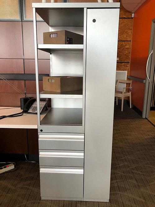 Series 2 Calibre front Display tower with 2 box and 1 file drawer