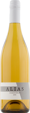 2018 Alias Chardonnay Bottle Shot