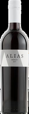 2017 Alias Merlot Bottle Shot