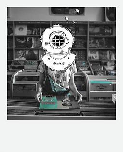 The Diver Polaroid - Record Store