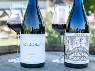 Le Mistral Grenache & Folktale Winery SLH Pinot Noir
