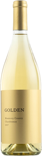 Golden Chardonnay 2017 Bottle Shot