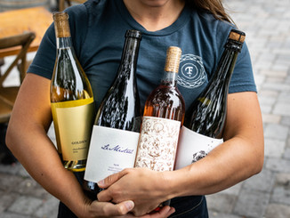Arms full of FWG wines!