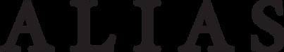 Alias Logo - Black