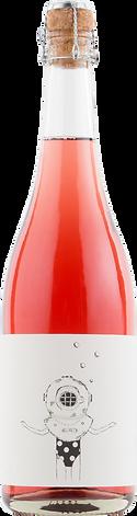 The Diver Brut Rosé - Wine Bottle Shot