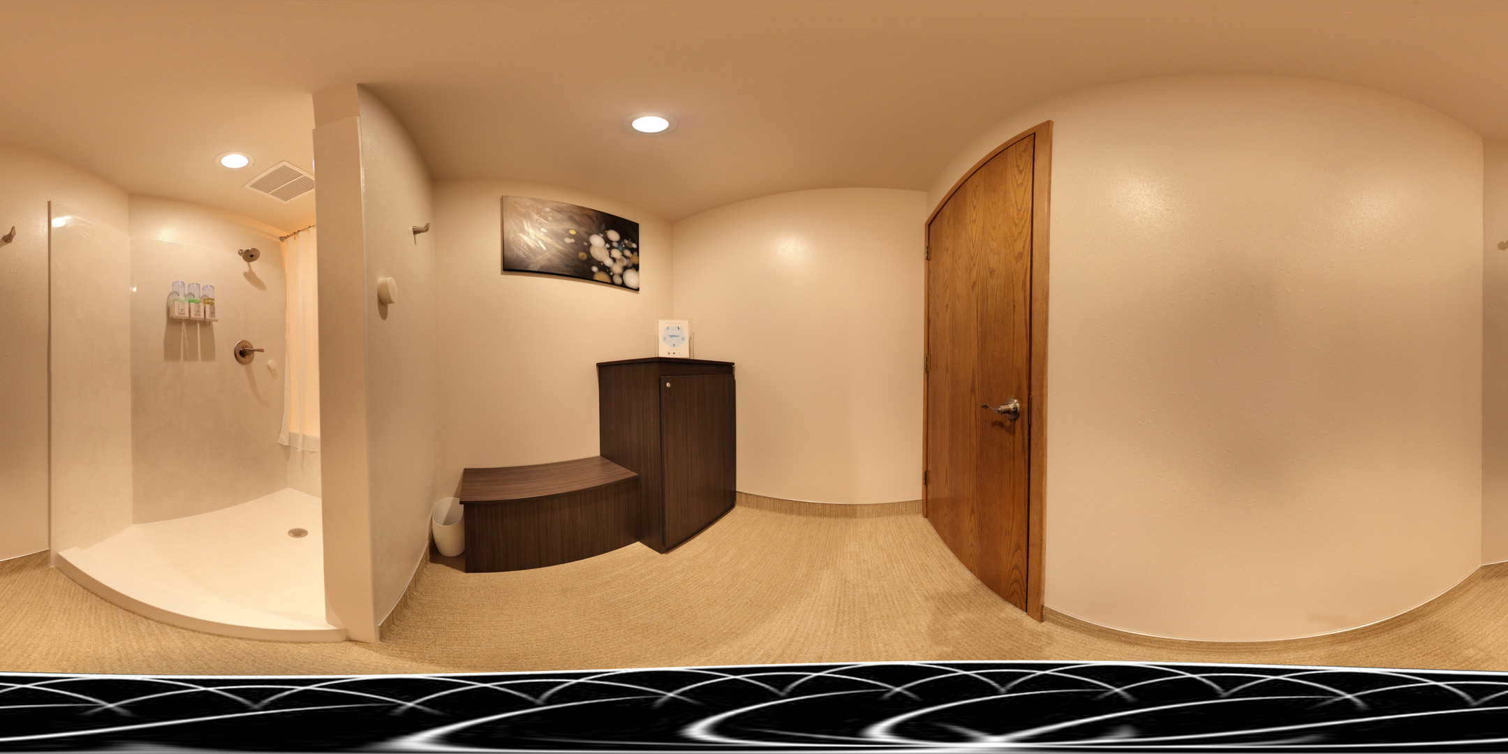 Cabin Float Room Panorama