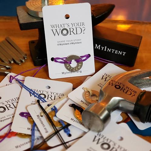 MyIntent Custom Word Bracelet
