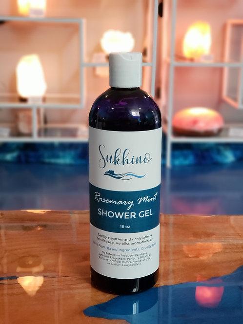 Rosemary Mint Bath & Shower Gel