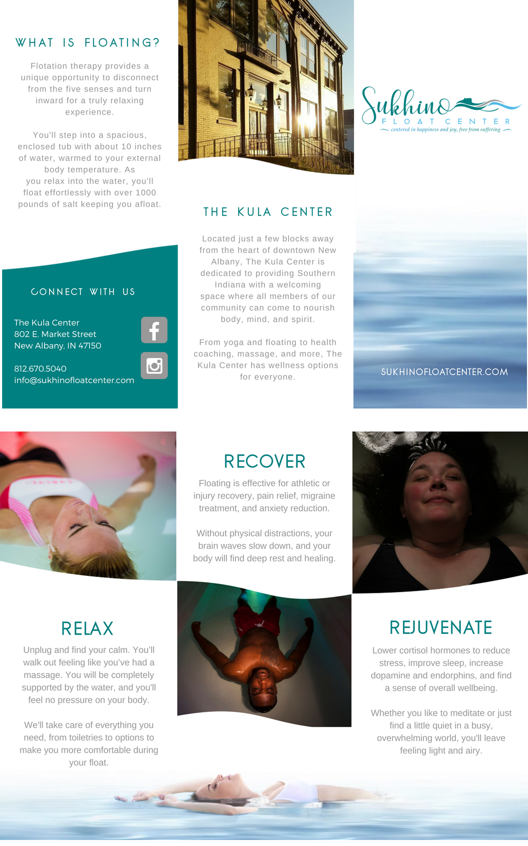 Float Therapy Brochure
