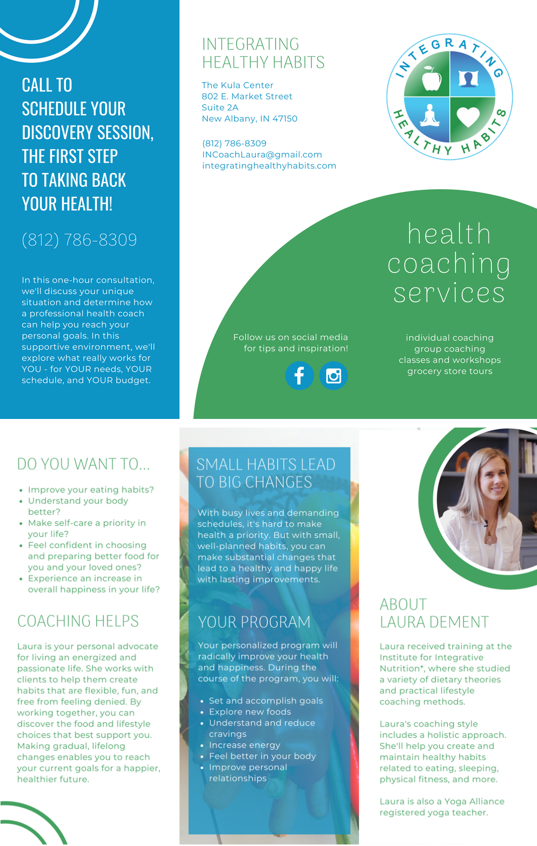 Health Coaching Brochure