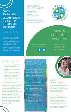 Health Coaching Brochure