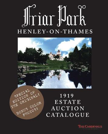 1919 Estate Auction Catalogue (color)