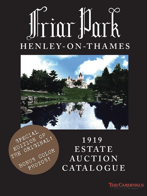 Friar Park: 1919 Estate Auction Catalogue