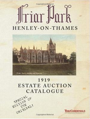 1919 Estate Auction Catalog (B/W)