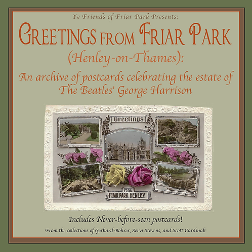 Greetings from Friar Park: An archive of postcards