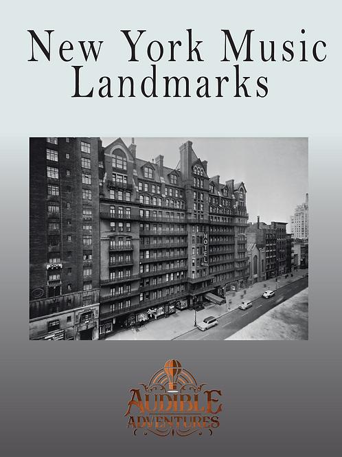 New York Music Landmarks. Tour #1
