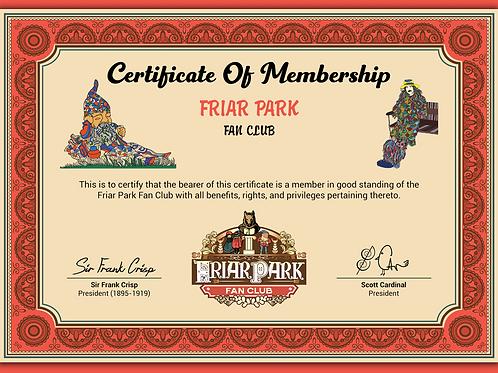 Friar Park Fan Club