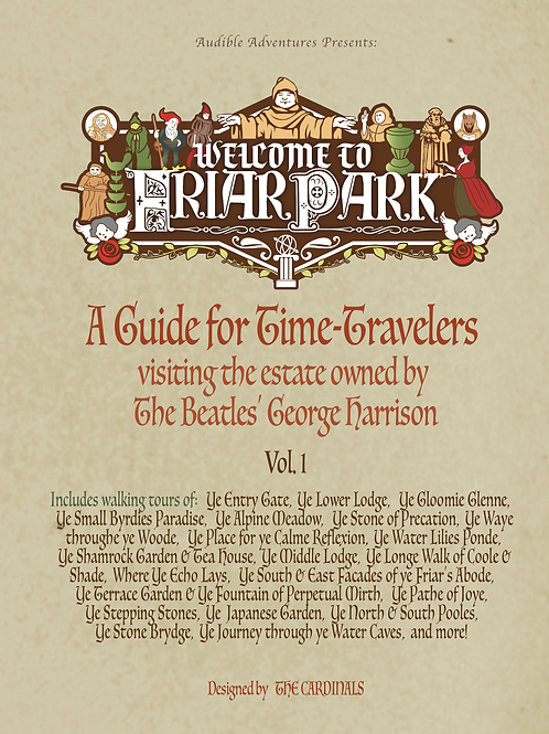 Welcome to Friar Park: A Guide for Time-Travelers visiting the estate owned by T