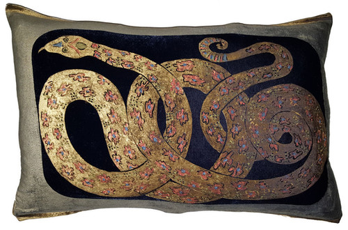 Snake by Kravet-This listing is for one Pillow.
