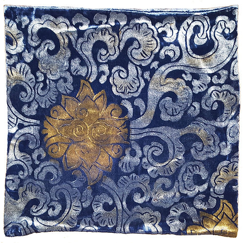 Peking Flowers Pillow