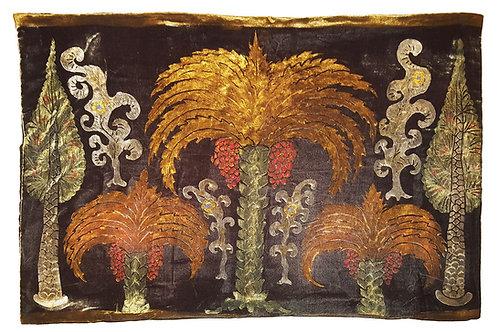 Three Palms Pillow