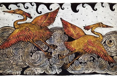 Heron Pillow