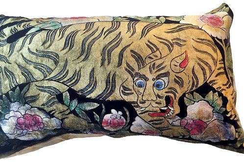Tibetan Tiger Pillow