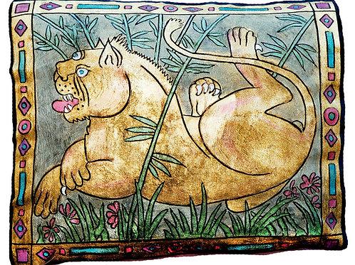 Lioness Pillow