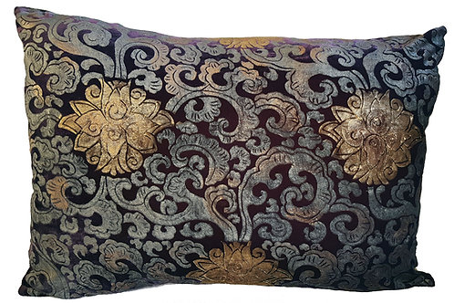 Peking Flowers Pillow
