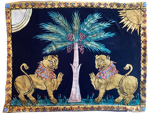 Ruggero Lions Pillow