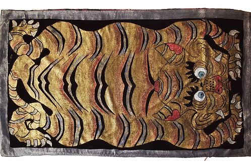 Carpet Tiger Pillow