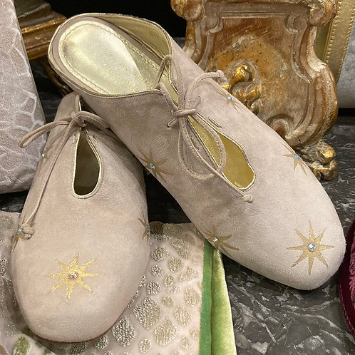 Starry Tied Sabot Shoe