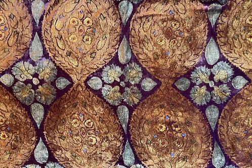 Jeweled Petals Pillow