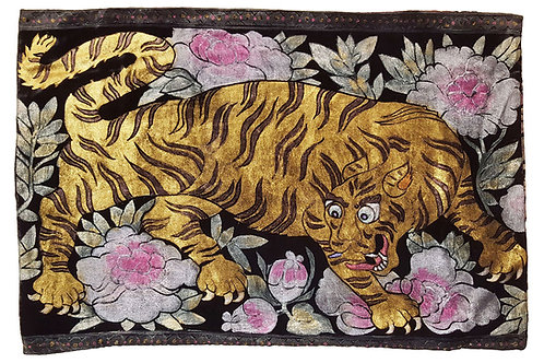 Tibetan Tiger Pillow