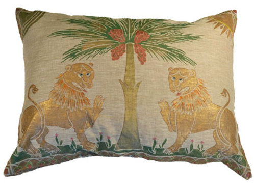 Ruggero Lions Pillow