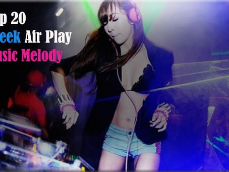 Top 20 Greek Airplay Chart