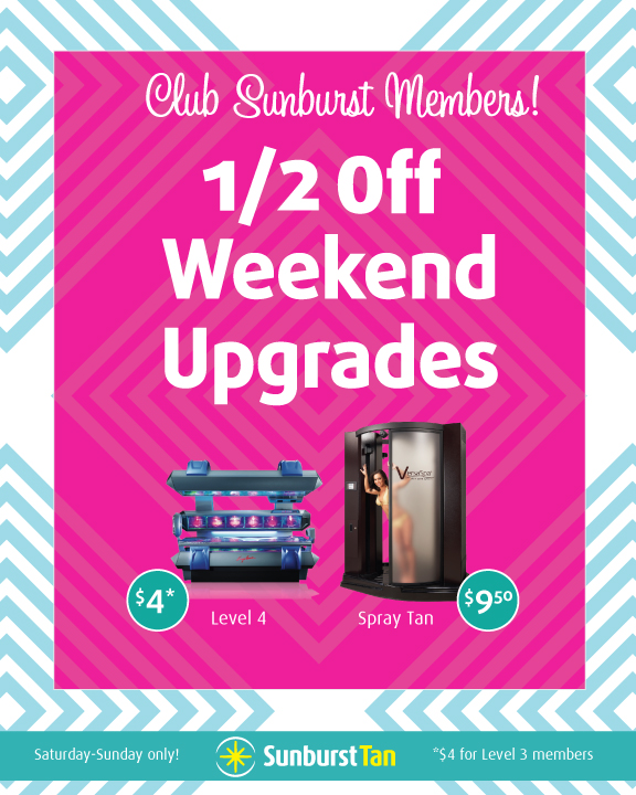 Members! 1/2 Off Weekend Upgrades!