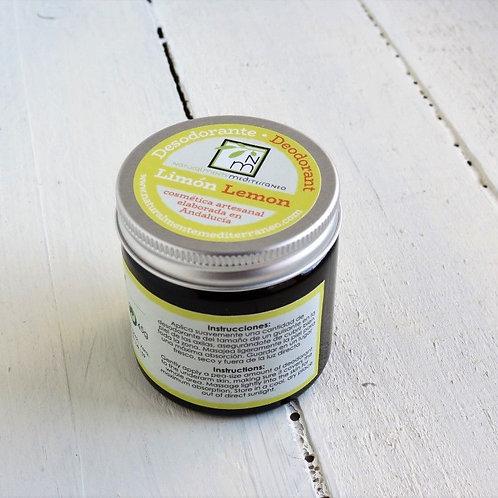 Desodorante en crema Limon