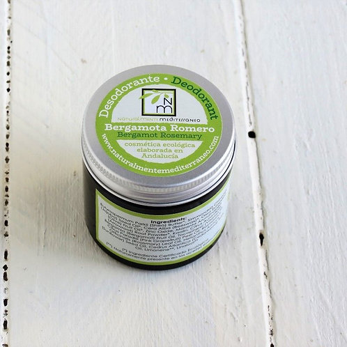 Desodorante en crema Bergamota Romero