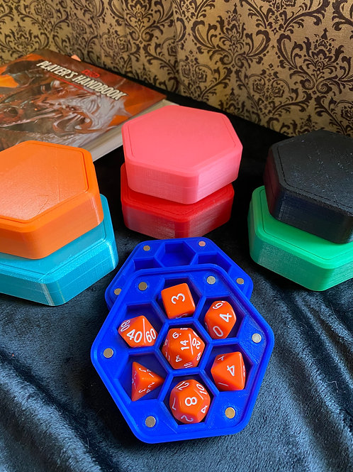 Hexagonal Dice Box by Nerys