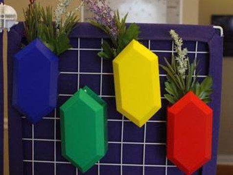 Rupee Planter Inspired by Legend of Zelda
