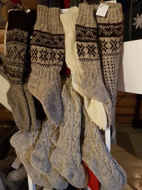 Håndstrikkede sokker