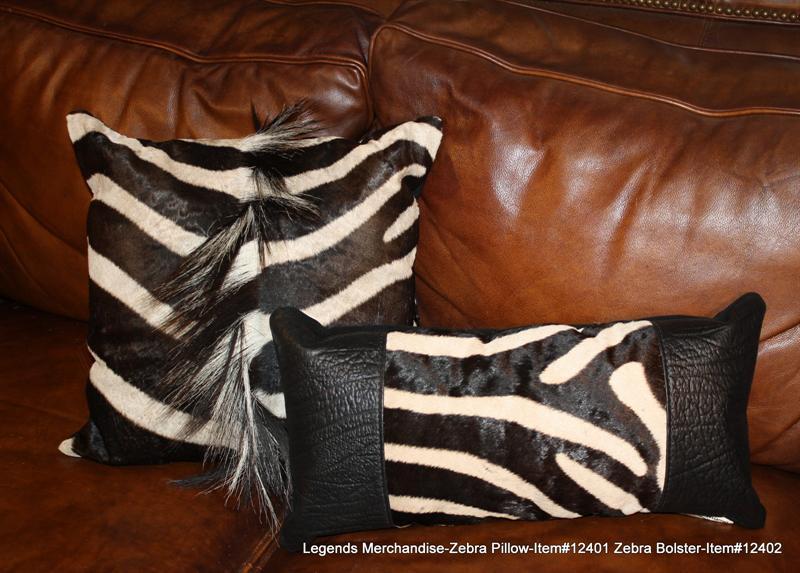 Zebra Pillows